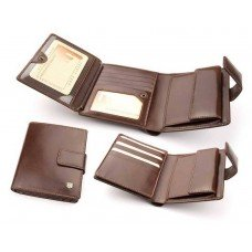 Бумажник мужской из итальянской кожи 191M