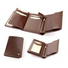 Бумажник мужской из итальянской кожи 012M
