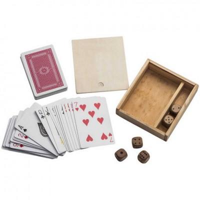 Игра: карты и кости