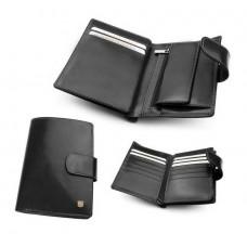 Бумажник мужской из итальянской кожи 240M