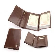 Бумажник мужской из итальянской кожи 009M