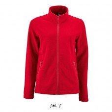 Однотонная женская куртка из флиса NORMAN WOMEN