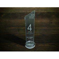 Стеклянная награда PG154