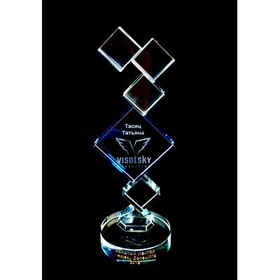 Стеклянная награда PG066
