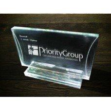 Стеклянная награда PG012
