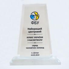 Стеклянная награда PG054