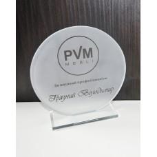 Стеклянная награда PG026