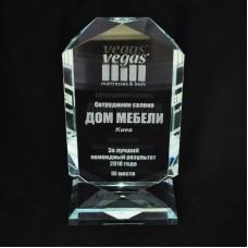 Скляна нагорода PG248