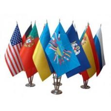 Настільні прапорці з логотипом Компанії