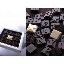 Любовное послание из шоколада