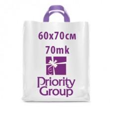 Большие полиэтиленовые пакеты 60х70 cm ПВД 70mk