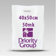 Пакеты 40х50 ПНД (шуршащие)- 50 микрон