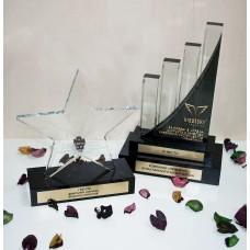 Скляні нагороди індивідуальних форм