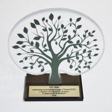 Стеклянная награда «Дерево»