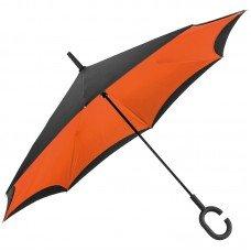 Зонт-трость с обратным складыванием 4047